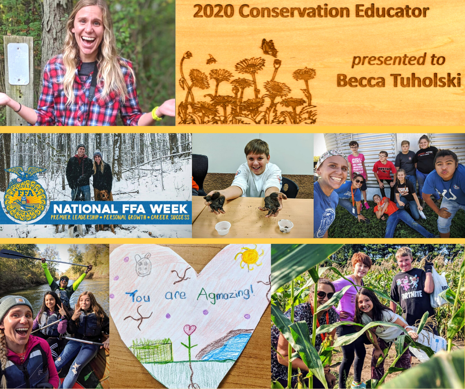 2020 Conservation Educator - Becca Tuholski